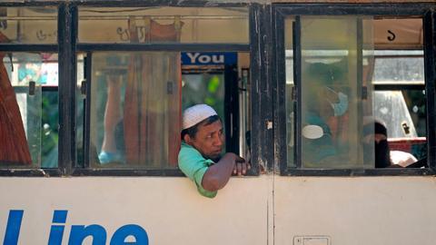 Bangladesh starts mass relocation of Rohingya refugees to remote island