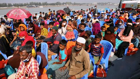 Bangladesh moves ahead with relocating over 1,600 Rohingya refugees