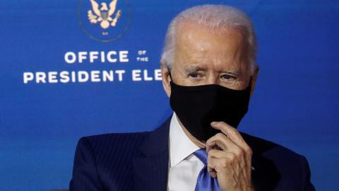 Biden's Covid-19 plan includes Fauci and 100-day mask challenge