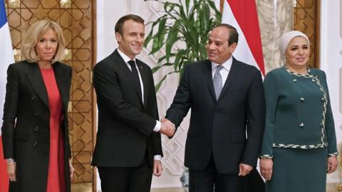 Is France indulging Sisi's 'brutal repression' through the state visit?