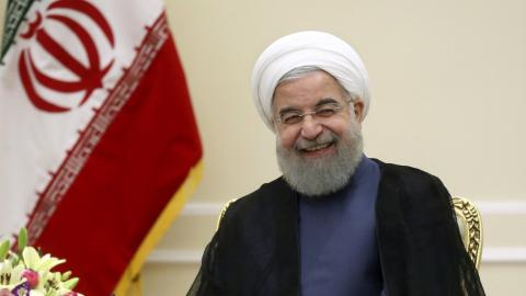 Iran's Rouhani inaugurated for second term