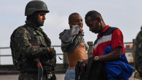 Brazilian military launches operation inside Rio's favelas