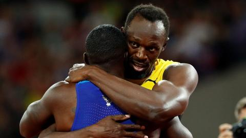 Bolt's swansong ends with a bronze medal in London