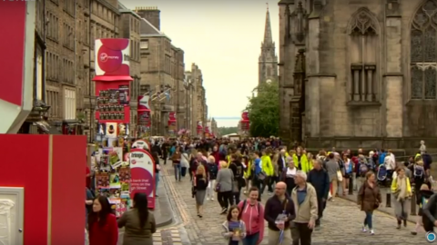 70th Edinburgh Festival underway