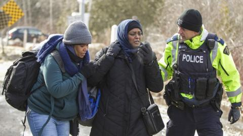 Canada sees rising tide of migrants from the US