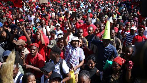 Zero hour for South Africa's Zuma as no-confidence vote begins