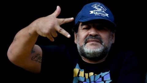 Footballer Maradona says he's