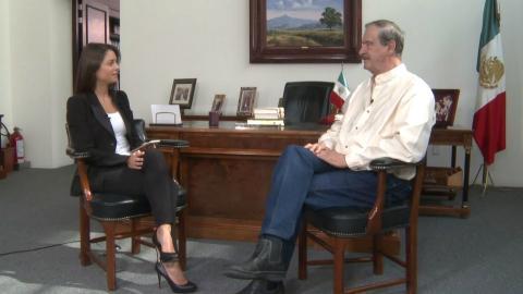 Mexico's former president slams Maduro, Trump