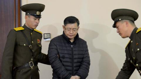North Korea releases Canadian pastor on
