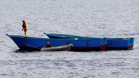 19 feared drowned as human traffickers push them off a boat near Yemen