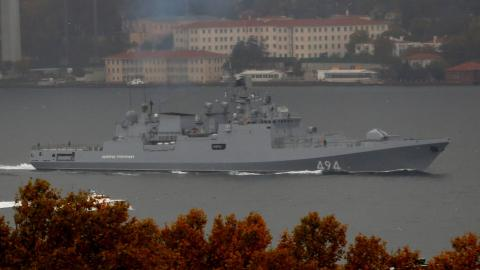 State-of-the-art Russian warship reaches Syria