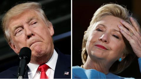 Clinton and Trump attempt to sway voters in last days of campaign