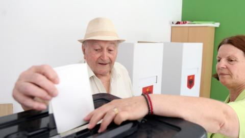 Socialists secure majority in Albanian parliament