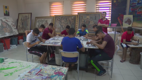 Rehab center in Turkey prepares addicts for life after drugs