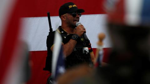 Far-right anti-government group growing rapidly in the US - Report