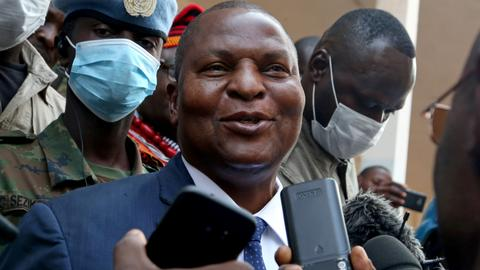 Central African Republic President Touadera wins second term