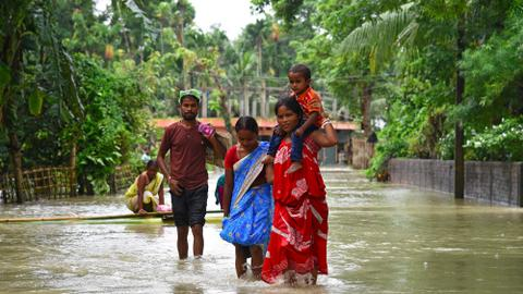Death toll rises to 175 in India, Nepal and Bangladesh floods