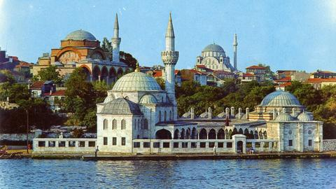 Is Istanbul's unique seaside mosque set to lose its defining feature?