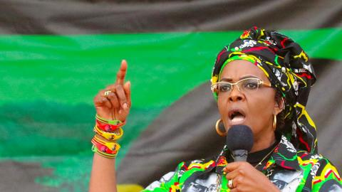 Grace Mugabe to be charged over alleged assault in South Africa, police say