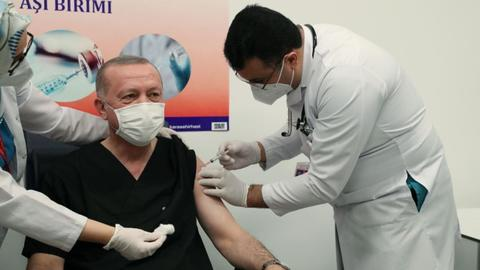 Turkey kicks off nationwide Covid-19 vaccination drive
