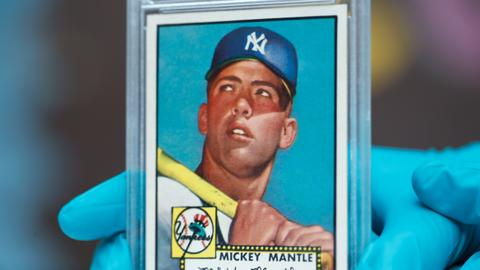 Baseball card fetches record $5.2 million amid rising market