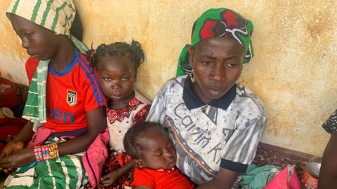 Violence in Central African Republic displaces nearly 60,000 in a week