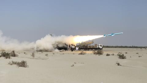Iran Revolutionary Guard holds ballistic missiles, drones drill