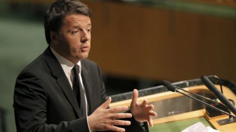 Italian PM Renzi: Austria's refugee plan is 'shameless'
