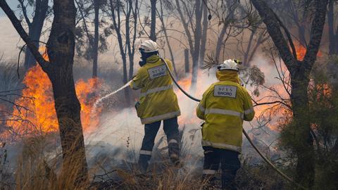 Fast-spreading Australian bushfire threatens Perth