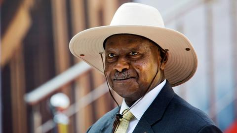 Ugandan president Museveni wins sixth term in office