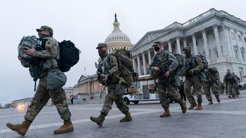 US states gird for armed protests as FBI flags threats