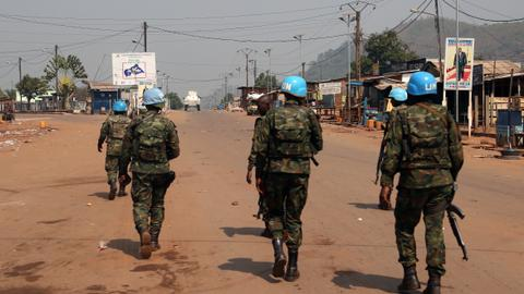 UN troops recapture city from rebels in Central African Republic