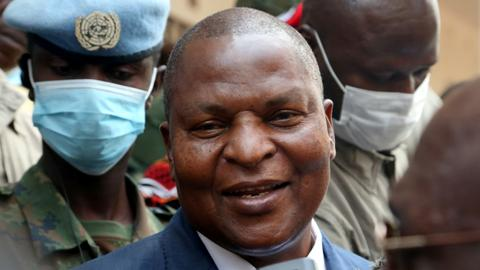 Central African Republic court confirms Touadera's re-election as president