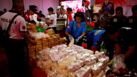 As Indonesia steps up war on drugs, casualties rise