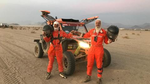 Israelis raced in Dakar Rally in Saudi Arabia: team manager