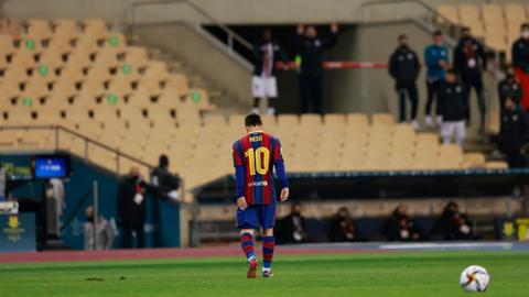 Messi gets off easy with two-game ban after Super Cup red card