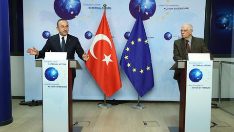 Turkish FM: Concrete steps needed for sustainable Turkey-EU ties