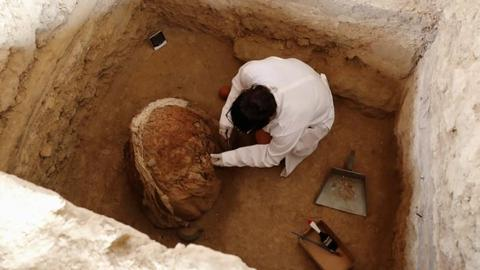 Tombs containing children of Incan nobles discovered in Peru