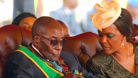 Grace Mugabe still in South Africa after assault case