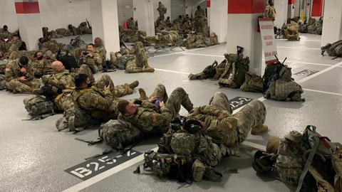 "US Guardsmen forced to sleep in garage: ""We feel incredibly betrayed"""