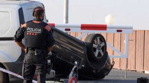 Death toll from double attack in Spain rises to 14