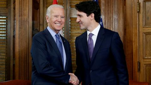 Biden, Trudeau agree to meet next month as they begin to reset relations