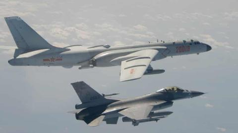 Chinese bombers, jets 'breach' Taiwan's air defence zone