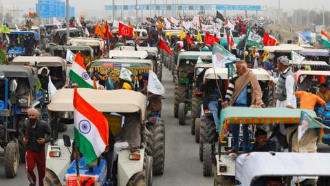 India to let protesting farmers into capital with tractors on Republic Day