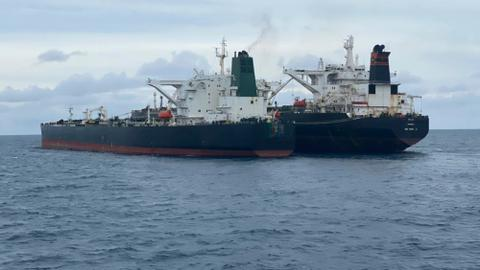 Indonesia seizes tankers of Iran, Panama over 'illegal' fuel transfer