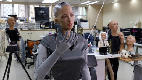 Makers of Sophia the robot plan mass rollout