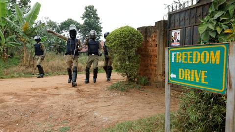 Ugandan court orders release of opposition leader Bobi Wine