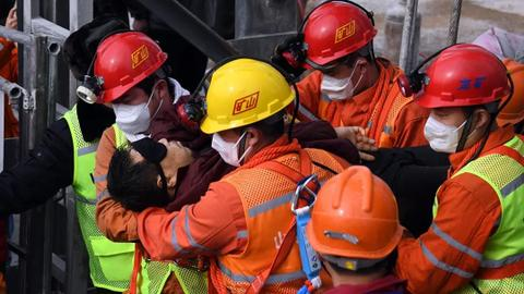 Ten Chinese gold miners confirmed dead, one still missing