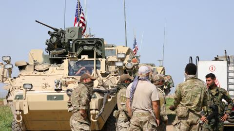 US forces might stay in Syria indefinitely