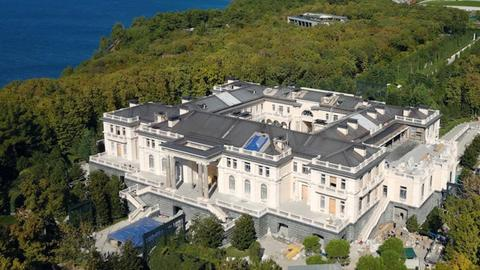 In pictures: 'Putin's palace', an extravagant $1.4 billion Black Sea marvel